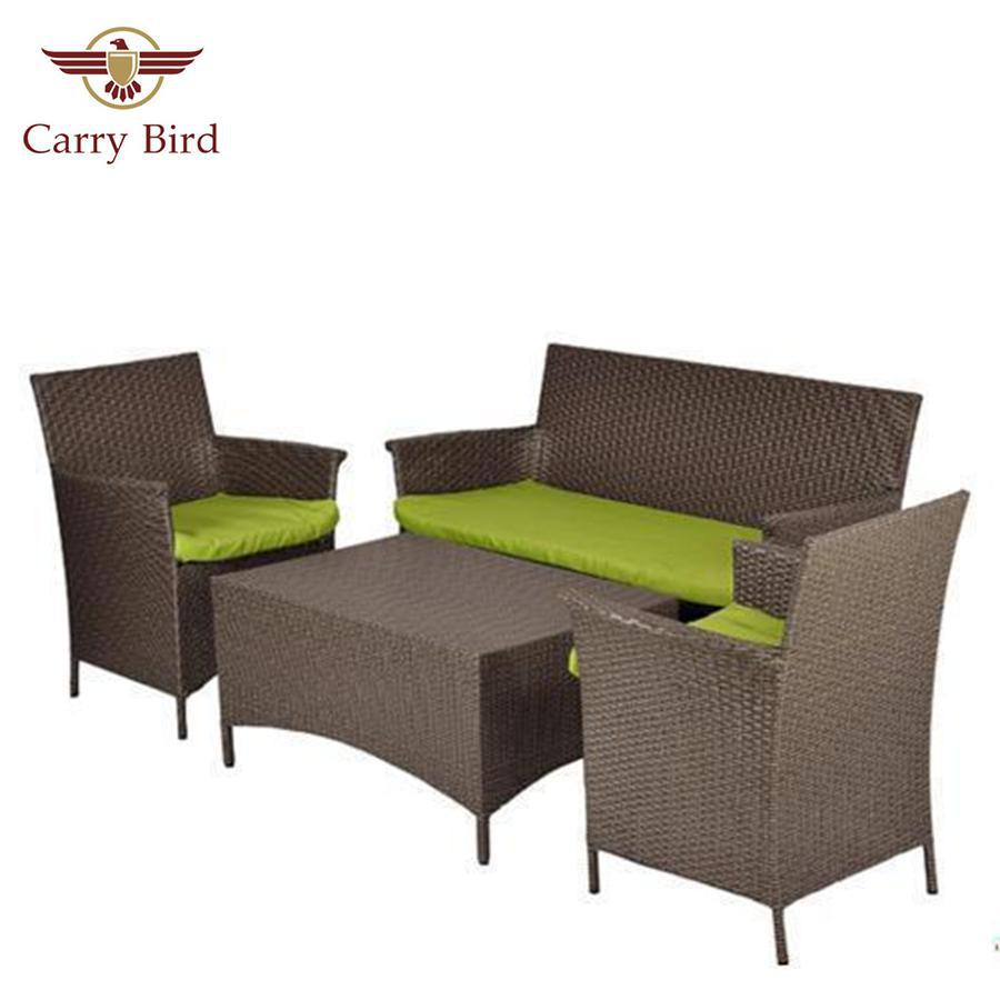 Out door Furniture Carrybird Carry Bird Conference Outdoor Patio sofa set 2+1+1