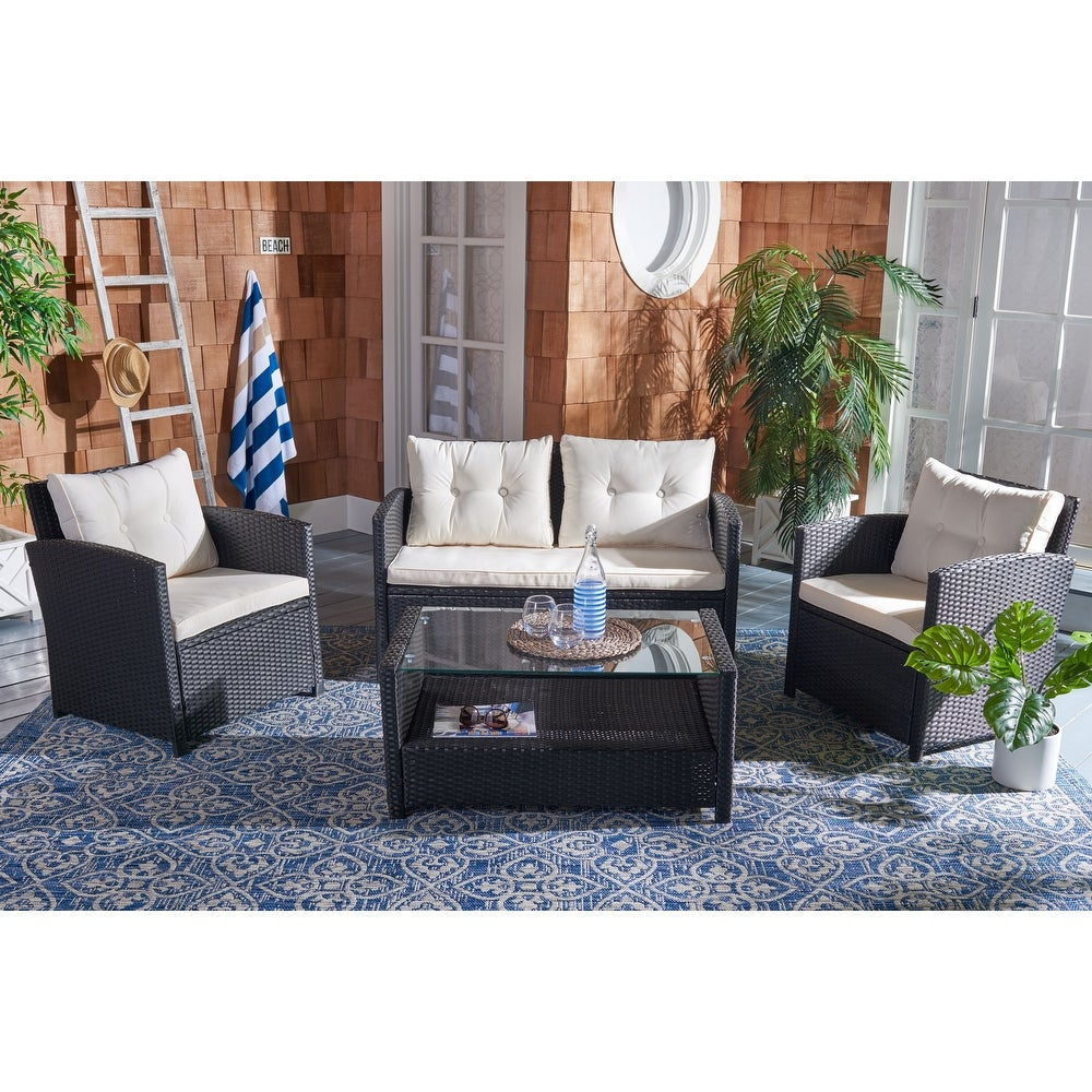 CARRY BIRD  - Flat Wings patio sofa set (3+1+1) with center table.