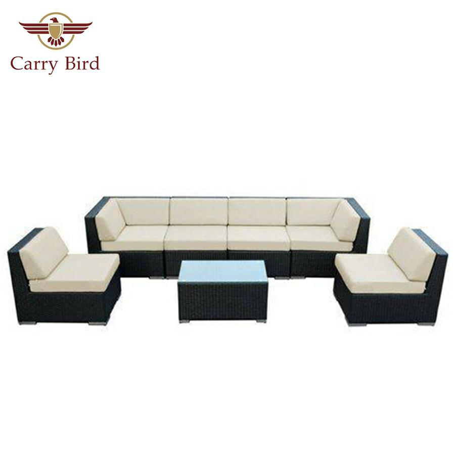 Out door Furniture Carrybird Carry Bird outdoor beautiful Wicker sofa set