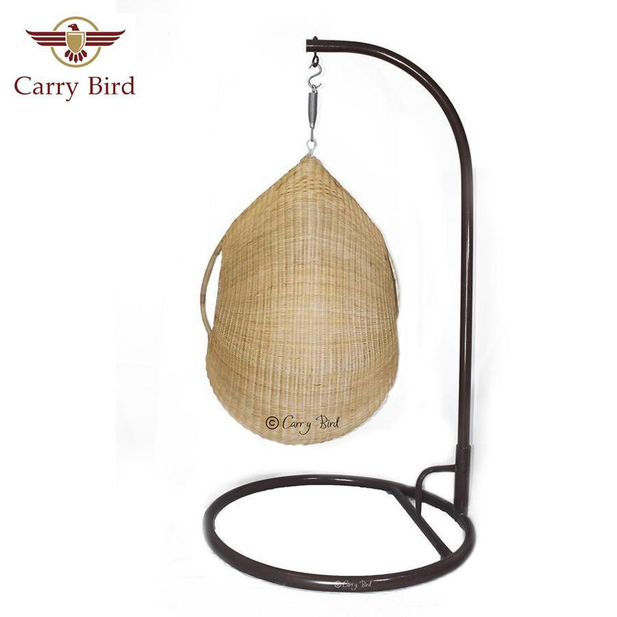 Hammock/swing Carrybird Single Seater Cane Swing, Beautiful Honey Color
