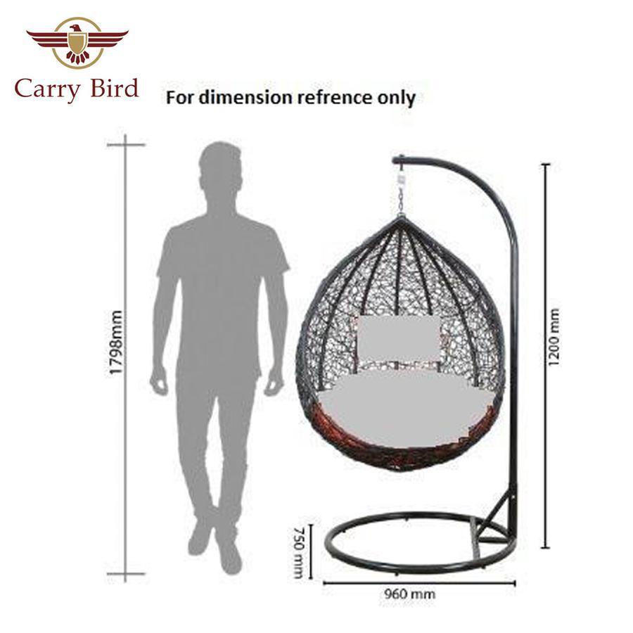 Hammock/swing Carrybird Indoor/Outdoor Nest design Swing with stand