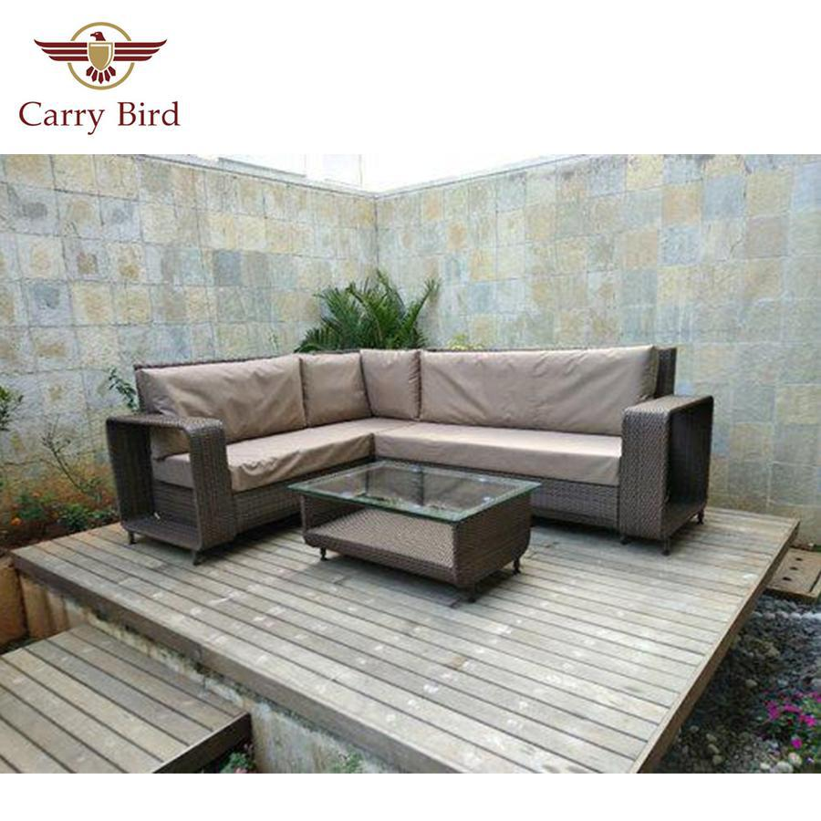 Furnitures Carrybird Carry Bird L Shape Outdoor Sofa Set