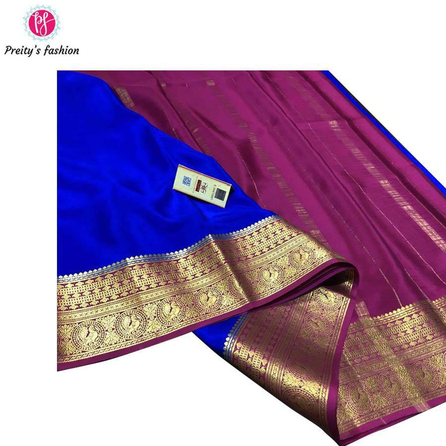 Pure Mysore Crepe silks