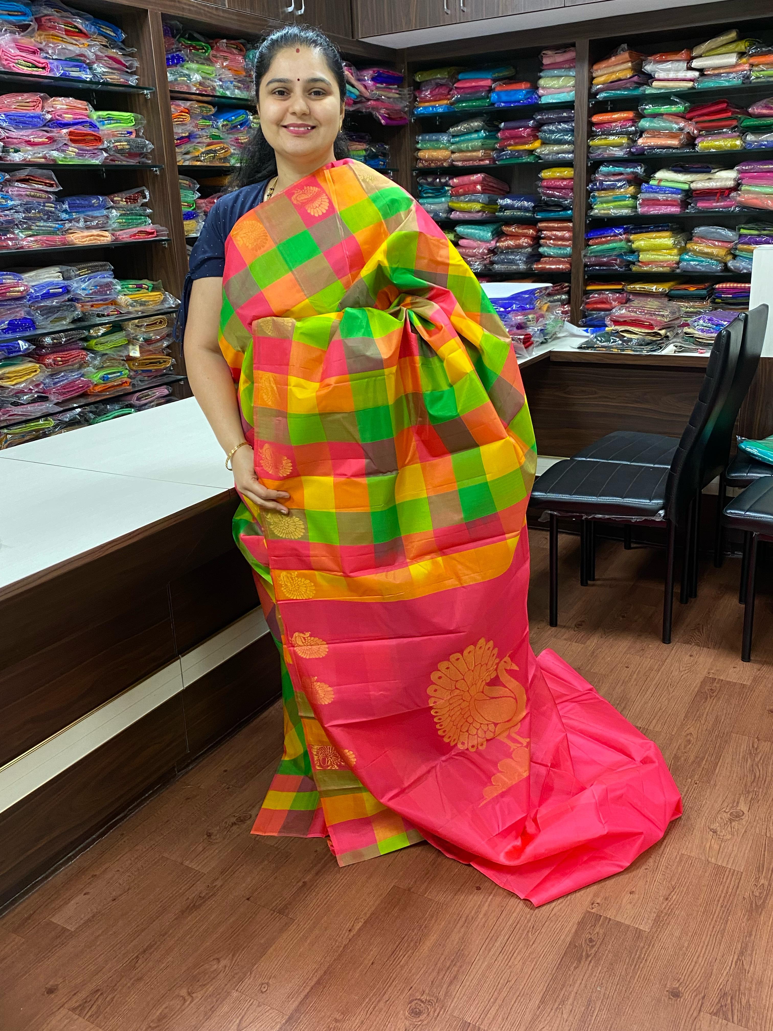 Pure Kanchipuram silk saree