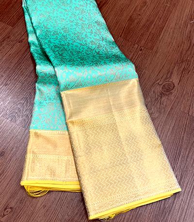 Pure Mysore Crepe Silk Saree