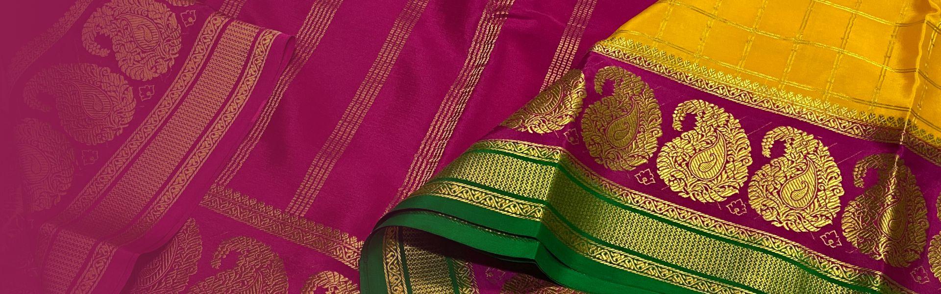 Mysore Crepe Silk Sarees