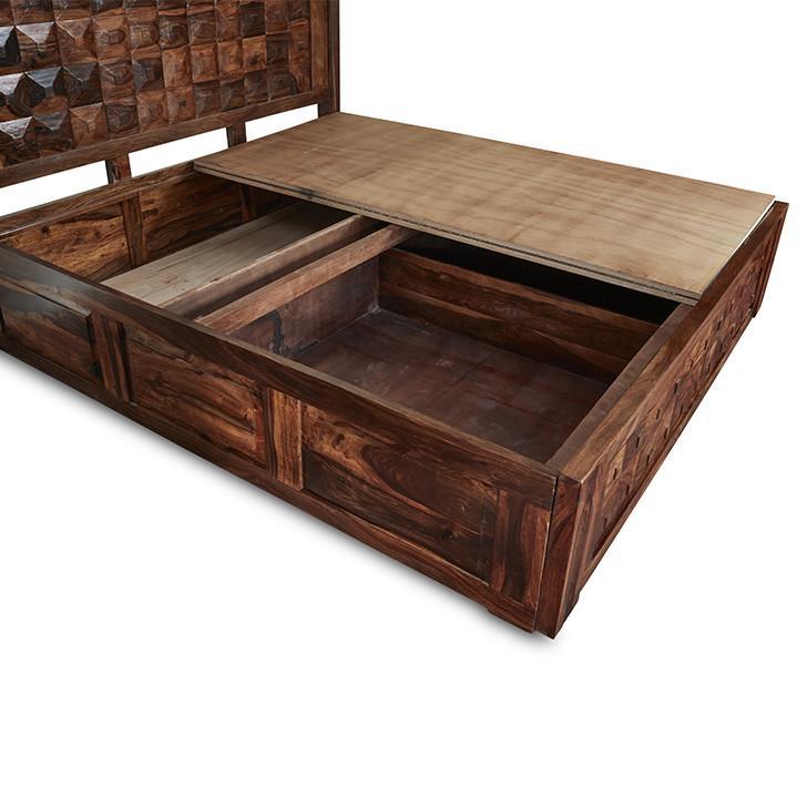 Tale King Size Storage Bed