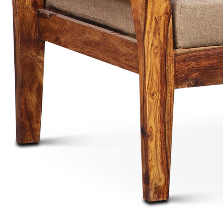 Brassico Three Seater Sofa Walnut