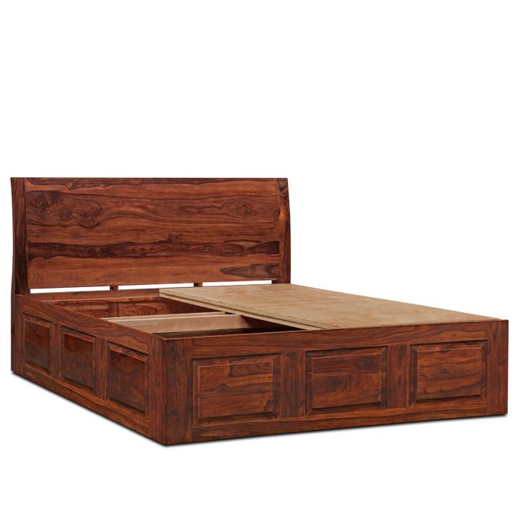 Decent Queen Size Storage Bed