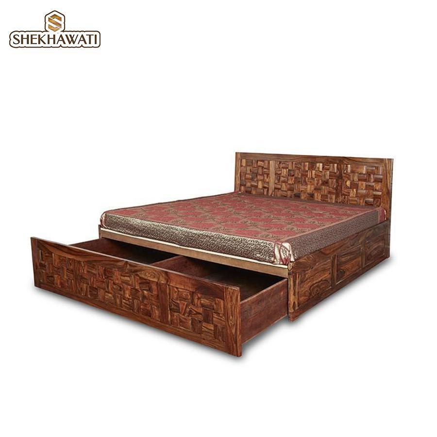 Niwas king size Storage Bed