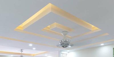 False Ceiling & Light Partition