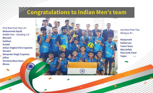 Indian Men's team