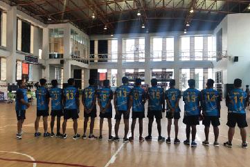International throwball Tournament-at Thailand Sep 2018