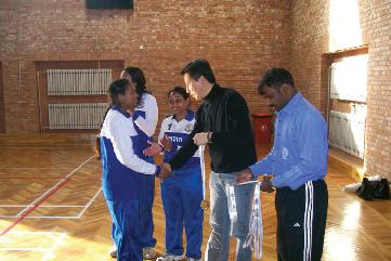Indo-China Throwball Series - December 24-28, 2010