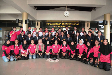 Indonesia-India International Throwball Championship-2018