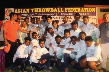 Indo-Bangladesh Throwball International Series-2017