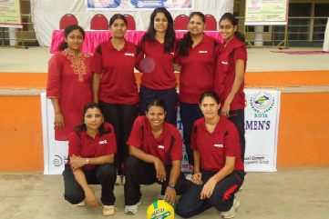 State-level Inter-corporate Women's Throwball Championship-2012