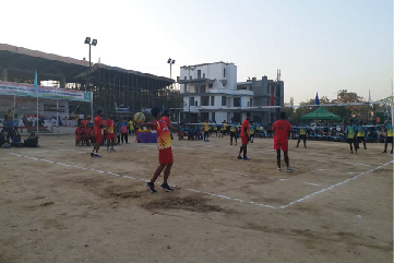 Throwball Nationals Mar 2018 @Haryana