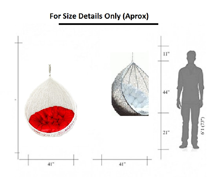 Carry Bird Outdoor Furniture Single Seater Swing,