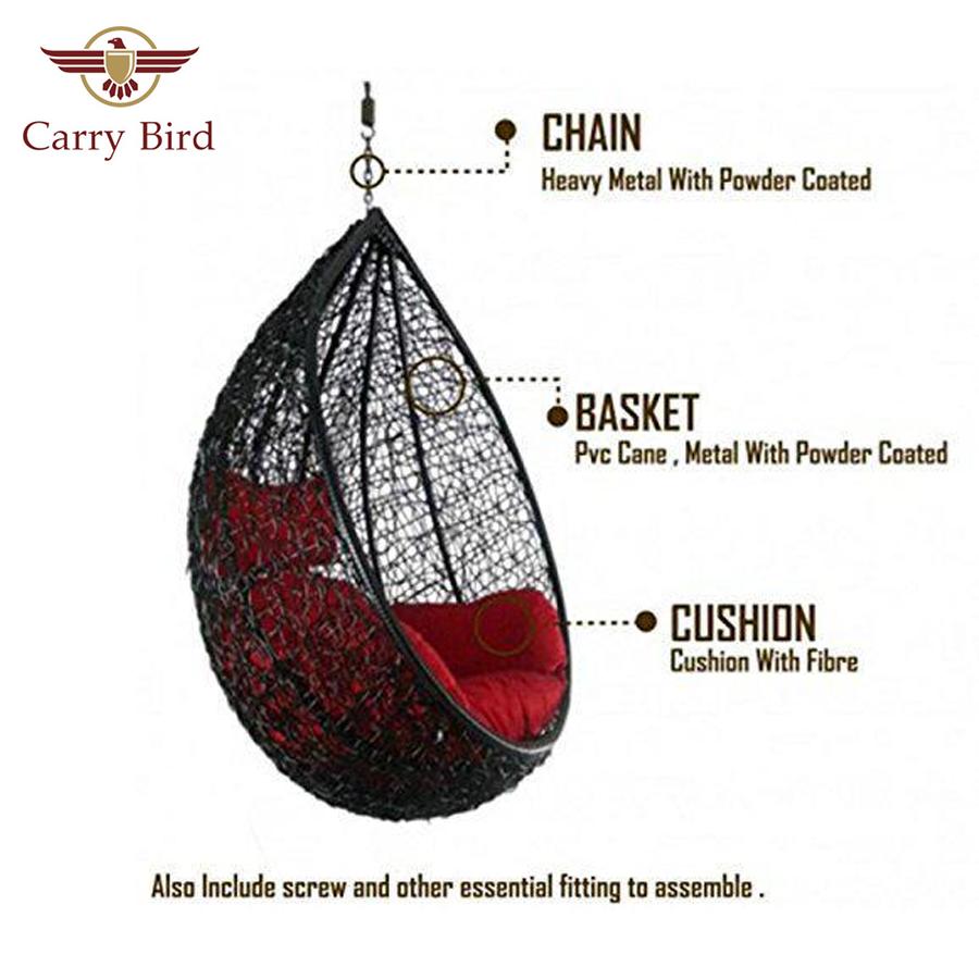 Furnitures Carrybird Big Boss Swing Indoor/Outdoor Rattan & Wicker