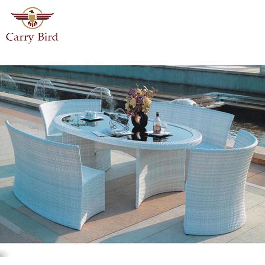 Out door Furniture Carrybird Carry Bird Wicker Patio Furniture Set