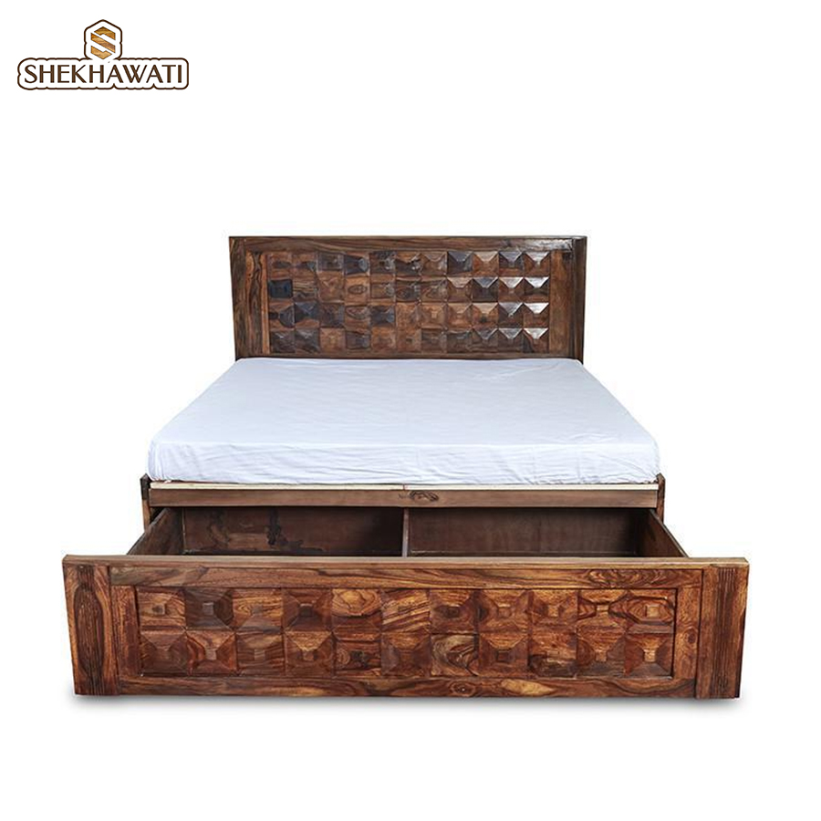 Victoria King Size Storage Bed