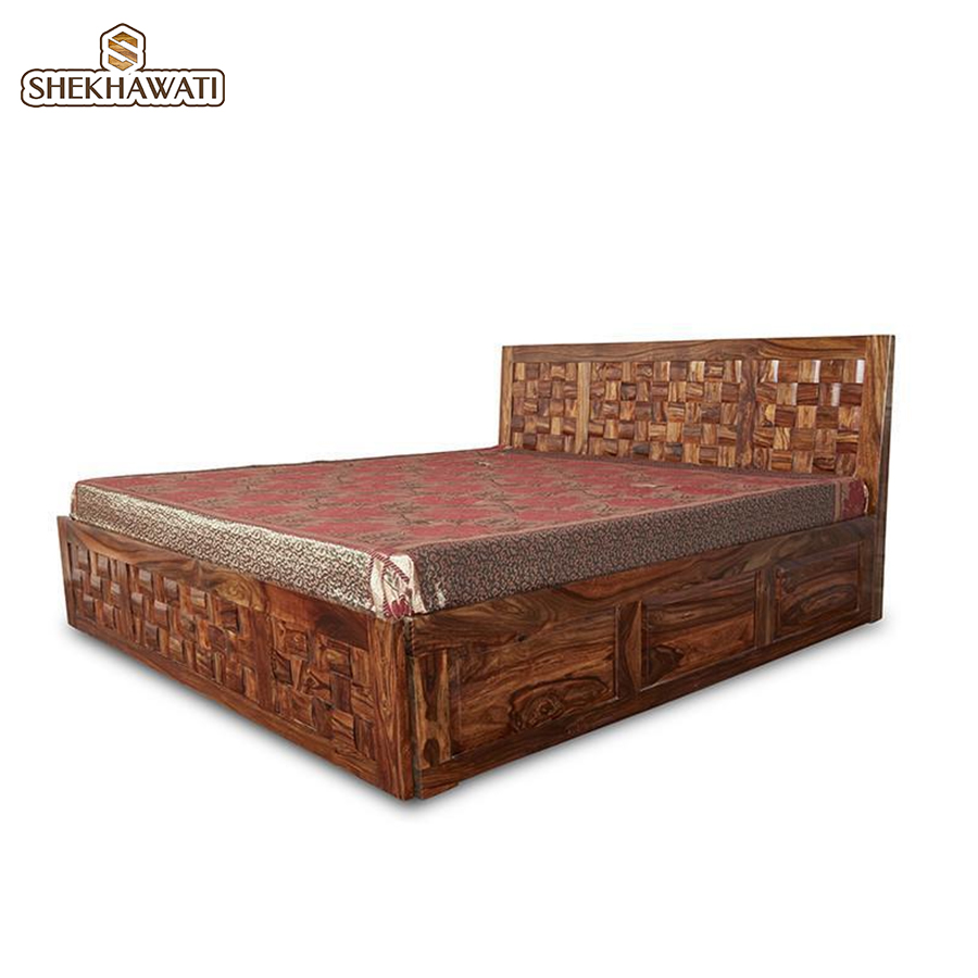 Grayon Queen Size Storage bed