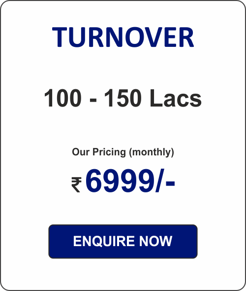ACCOUNTING PACKAGE - 1  (for Pvt Ltd Co. & LLPs)  100 - 150L