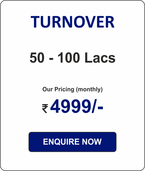 ACCOUNTING PACKAGE - 1  (for Pvt Ltd Co. & LLPs)  50 - 100L