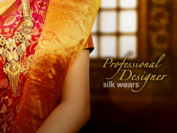 professio9nal designer silk wears