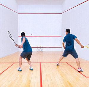 Donata County, Yelahanka Bangalore  ( Squash Court)