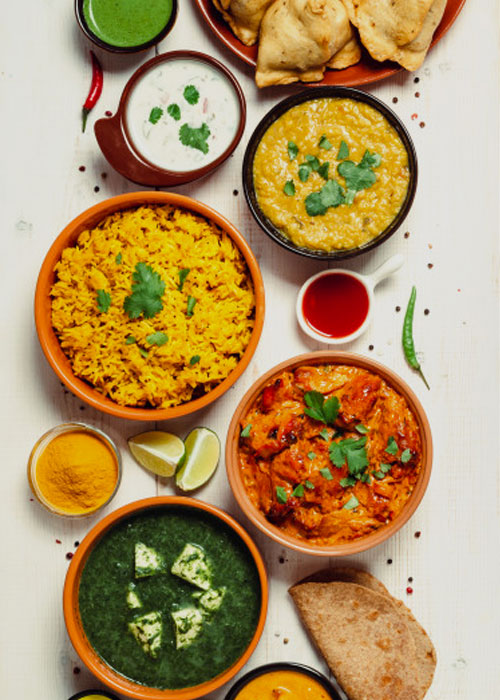 South Indian Spicy Meals