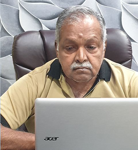B Raja Gopal a civil engineer